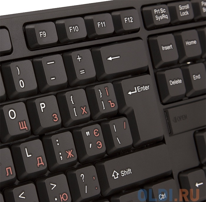 Клавиатура Sven Comfort 2200 Wireless USB черный
