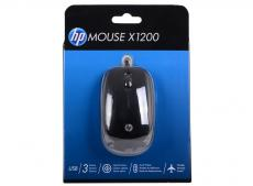 Мышь HP X1200 Wired Black Mouse (H6E99AA#ABB)