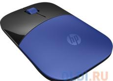 Мышь беспроводная HP Z3700 синий USB V0L81AA#ABB