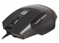 Мышь лазерная игровая QCYBER CANE (QC-02-005DV01), 3500 DPI, 7 программируемых кнопок, USB2.0, подсветка