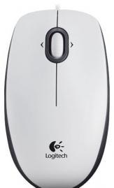 мышь (910-001605) logitech mouse m100 white