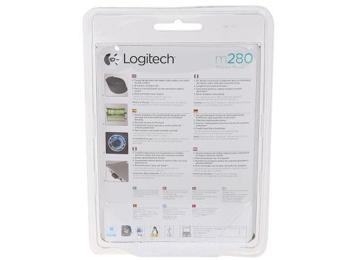 Мышь (910-004290) Logitech Wireless Mouse M280 Blue EWR