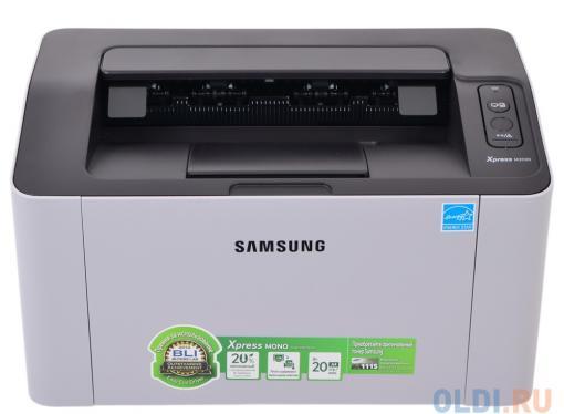 Принтер Samsung SL-M2020 лазерный Настольный офисный / черно-белый / 20 стр/м / 1200x1200 dpi / A4 / USB