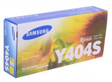 Картридж Samsung CLT-Y404S для SL-C430 / C430W / C480 / C480W / C480FW. Жёлтый. 1000 страниц.