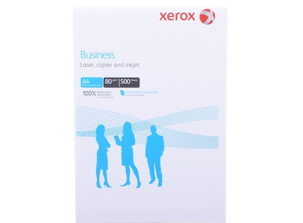 Бумага в листах белая офисная Xerox Business A4, 80 г/м2, 500л.