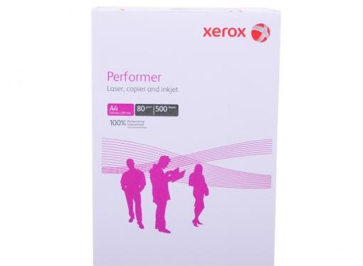 Бумага в листах белая офисная Xerox Performer A4, 80 г/м2, 500л. 003R90649