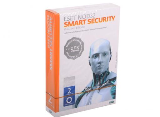 Антивирус  NOD32-ESS-NS(BOX)-2-1 Smart Security Platinum Edition - лицензия на 2 года