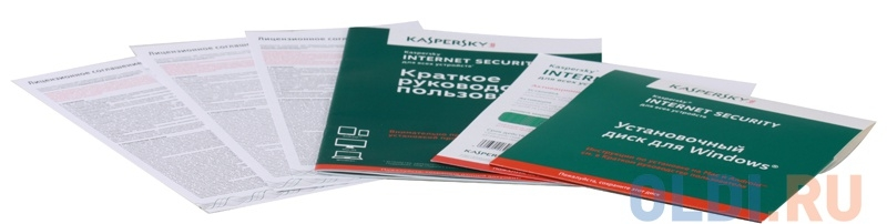 Программное обеспечение Kaspersky Internet Security Multi-Device Russian Edition. 2-Device 1 year Renewal Box (KL1941RBBFR)