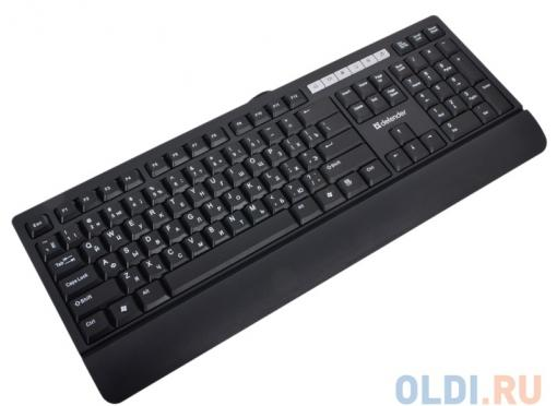 Клавиатура Defender Episode 950, USB слим, 6 дополнит. кнопок