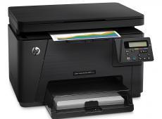 мфу hp color laserjet pro m176n <cf547a> принтер/сканер/копир, a4, adf, 16/4 стр/мин, 128мб, usb, lan