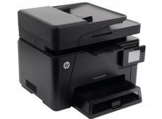 мфу hp color laserjet pro m177fw <cz165a> принтер/сканер/копир/факс , a4, adf, 16/4 стр/мин, 128мб, usb, lan, wifi (замена ce866a m175nw)