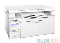 МФУ HP LaserJet Pro M132nw RU (G3Q62A) принтер/ сканер/ копир, A4, 22 стр/мин, 256Мб, USB, LAN, WiFi