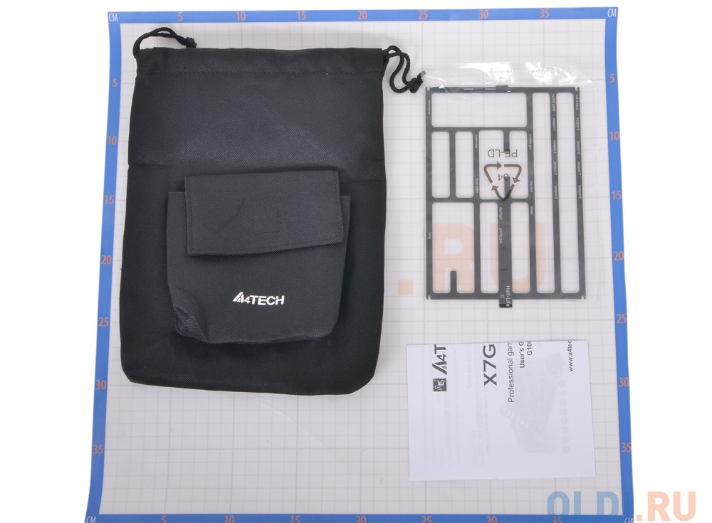 Клавиатура A4Tech X7-G100 Черная, игровая