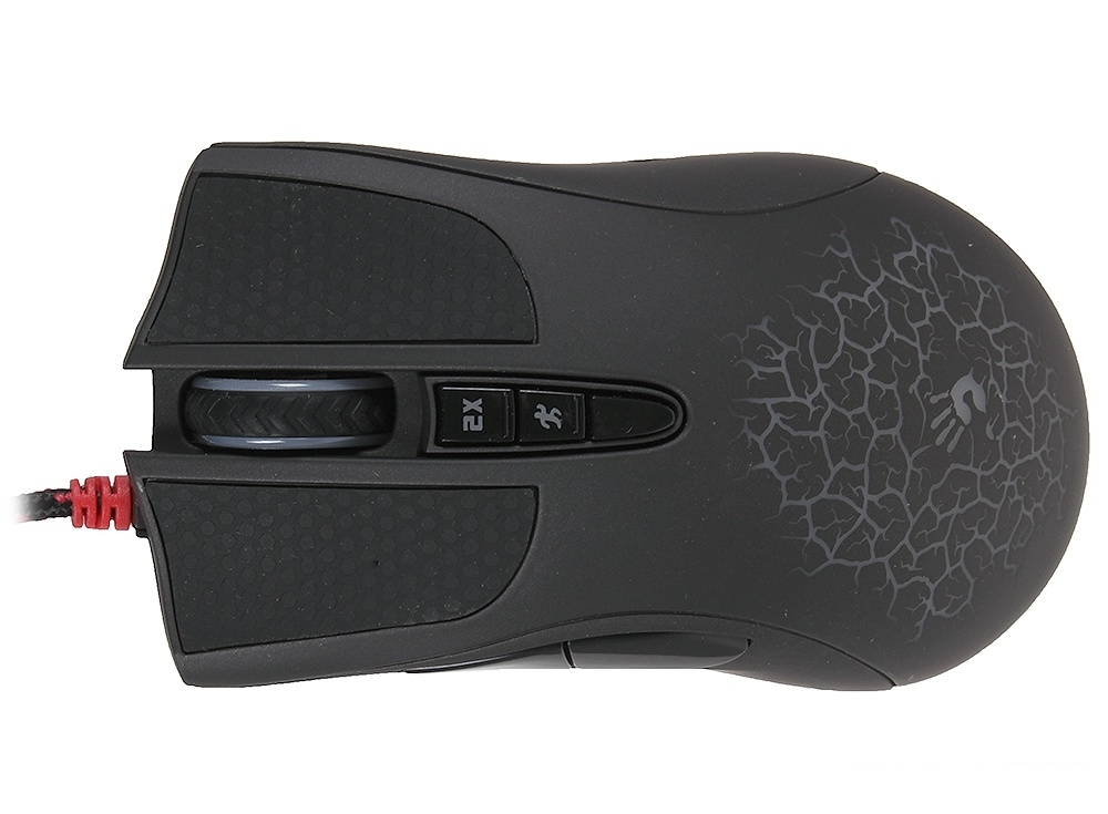 Клавиатура + мышь A4 Bloody Q2100 (Q210+Q9) черный USB Multimedia Gamer