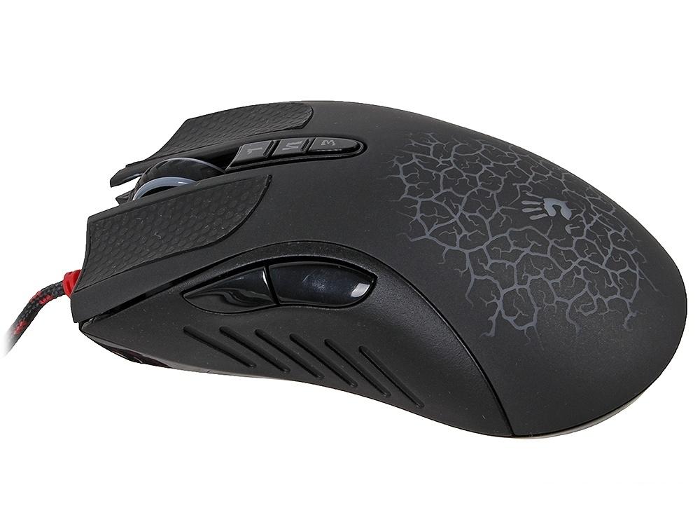 Клавиатура + мышь A4 Bloody Q1500 (Q110+Q9) черный USB Multimedia Gamer