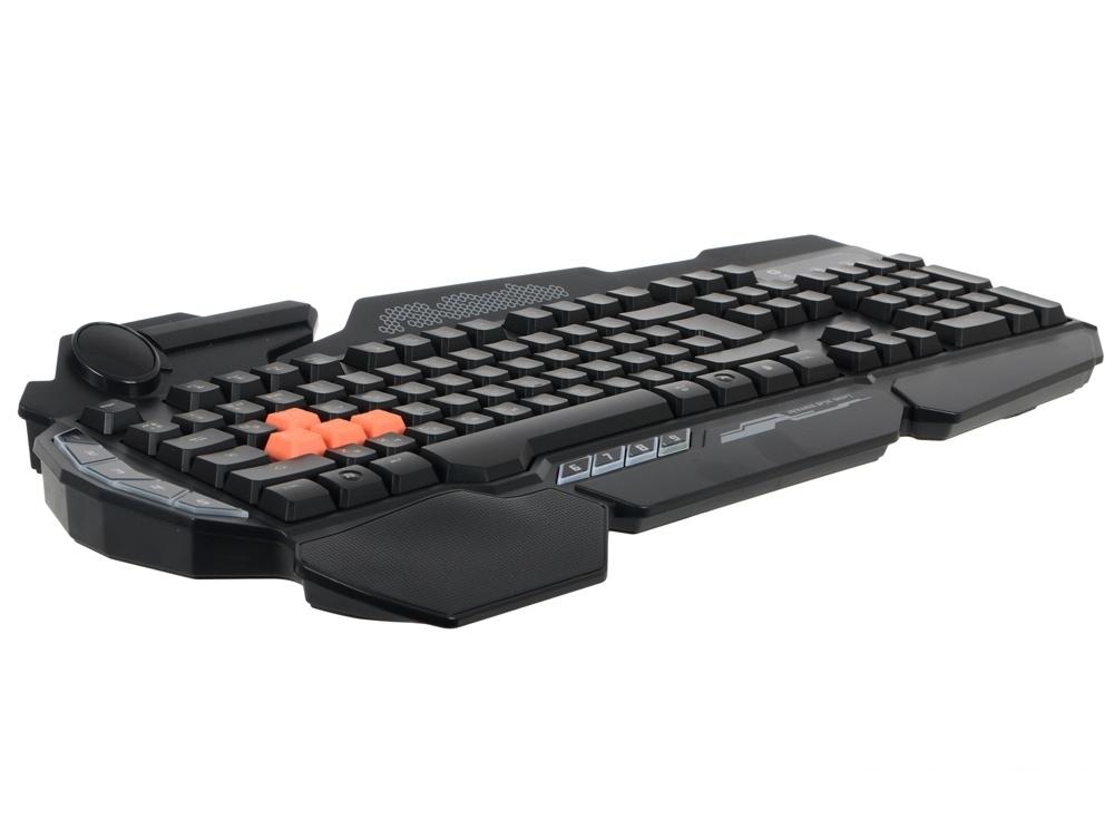 Клавиатура A4Tech  Bloody B314 черный USB Multimedia Gamer LED