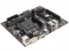 Материнская плата ASRock FM2A68M-DG3+ (SFM2+, AMD A68, 2*DDR3, PCI-E16x, PCI-E1x, PCI, D-SUB, DVI, SATAIII, GB Lan, USB3.0, mATX, Retail)