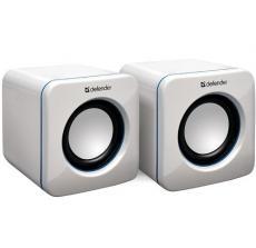 Колонки Defender SPK-530 White 2x2W, USB интерфейс
