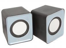 Колонки DEFENDER SPK 22 серый 5 Вт, питание от USB