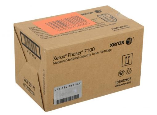 картридж xerox 106r02607 phaser 7100 standard capacity magenta toner cartridge