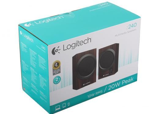 Колонки (980-000756) Logitech Z240 (2.0), дерево