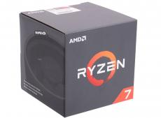 Процессор AMD Ryzen 7 BOX 65W, 8/16, 3.7Gh, 20MB, AM4 (YD1700BBAEBOX)