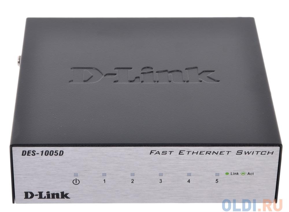 Принципиальная схема d-link des-1005d