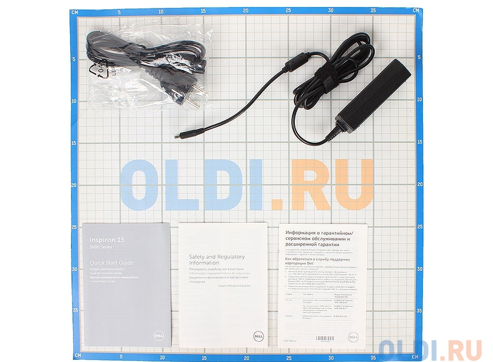 Ноутбук Dell Inspiron 3552 (3552-0514) Celeron N3060 (1.6)/4GB/500GB/15.6