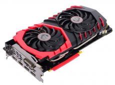 Видеокарта MSI GeForce GTX 1080 GAMING X 8G 8GB 1607 MHz NVIDIA GTX1080/GDDR5X/10108MHz/256 bit/PCI-E/ DVI DP HDMI