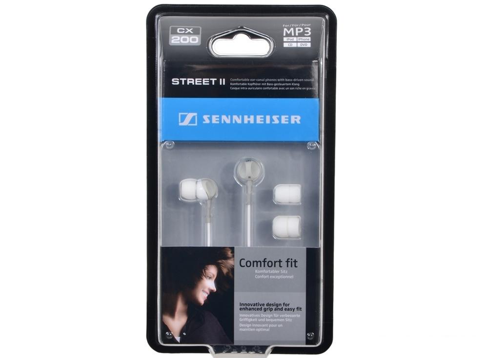 Наушники Sennheiser CX 200 Street II (вкладыши, белые)