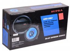 Автоакустика Supra SBD-1302 коаксиальная 2-полосная 13см 40Вт-140Вт