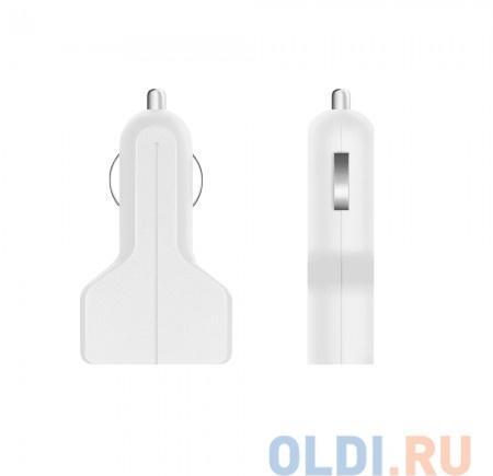 Автомобильное зарядное устройство Prime Line 2212 2 USB, 2.1A, белый