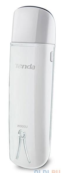 адаптер tenda w900u двухдиапазонный usb адаптер 2.4 ghz/5ghz (300мбит/с, 847мбит/с)