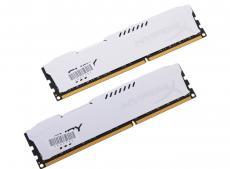 Память DDR3 16Gb (pc-12800) 1600MHz Kingston HyperX Fury White Series CL10 Kit of 2 (Retail) (HX316C10FWK2/16)