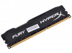Оперативная память Kingston HyperX Fury DDR3 8Gb, PC12800, DIMM, 1600MHz (HX316C10FB/8) Black Series CL10 [Retail]