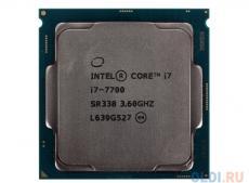 Процессор Intel Core i7-7700 OEM TPD 65W, 4/8, Base 3.60GHz - Turbo 4.20GHz, 8Mb, LGA1151 (Kaby Lake)