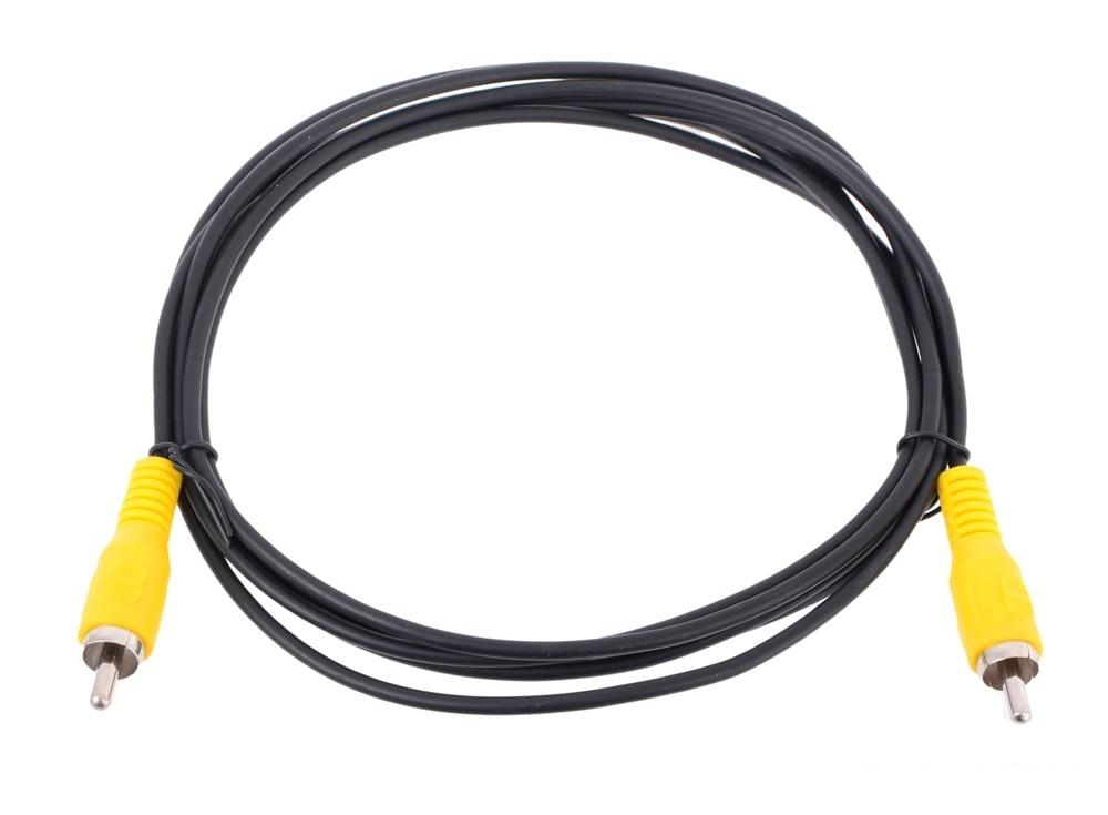 Кабель соединительный RCA (M) - RCA (M) черный 2m, Telecom (TAV4158-2M)