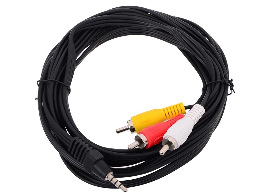 Кабель соединительный 3.5 Jack (M)/3 RCA (M)  Telecom  (TAV4545-3M)