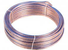 Акустический кабель Cablexpert CC-TC2x1,5-15M, прозрачный, 15 м, бухта