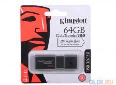 USB флешка Kingston DT100G3 64GB (DT100G3/64GB)