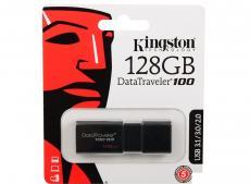 Флешка USB 128Gb Kingston DataTraveler 100 G3 DT100G3/128GB черный