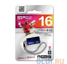USB флешка Silicon Power Touch 810 Blue 16GB (SP016GBUF2810V1B)
