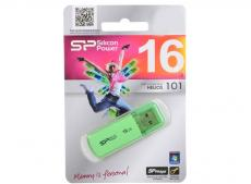 USB флешка Silicon Power Helios 101 Green 16GB (SP016GBUF2101V1N)