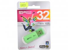 USB флешка Silicon Power Helios 101 Green 32GB (SP032GBUF2101V1N)