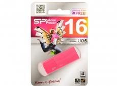 Флешка USB 16Gb Silicon Power Ultima U05 USB2.0 SP016GBUF2U05V1H персиковый