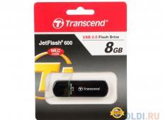 USB флешка 8GB USB Drive (USB 2.0) Transcend 600 (TS8GJF600)