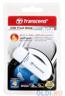 USB флешка 8GB USB Drive (USB 2.0) Transcend 620 (TS8GJF620)