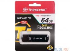 USB флешка Transcend 750 64GB (TS64GJF750K)