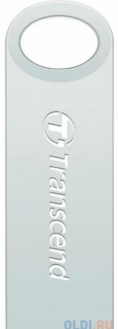 Флешка USB 32Gb Transcend Jetflash 520S TS32GJF520S серебристый