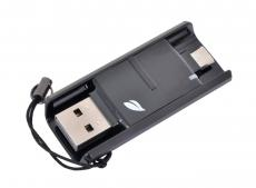 Внешний накопитель 64GB USB Drive (USB 3.0) Leef BRIDGE Black (LB300KK064R7)